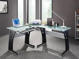 modern glass office desk. 24 Photos Gallery Of: Modern Glass Desk Office Elegant E