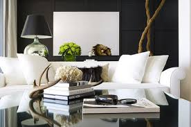 apartments black couch living room sofa pictures modern white design colour scheme leath leather ideas