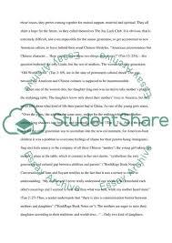 Essay Topics Joy Luck Club Free Research Essays On Topics