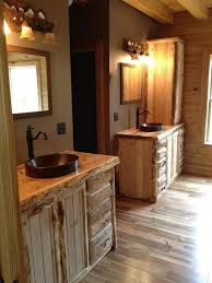 Cool Bathrooms Interesting Cool Rustic Bathroom Ideas For Your Home Cabin Themed Bathroom