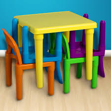 kids plastic chairs amazon oxgord pltc 01 kids plastic table and chairs