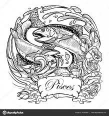 знак зодиака рыбы арт знак зодиака рыбы две рыбы прыжки из воды