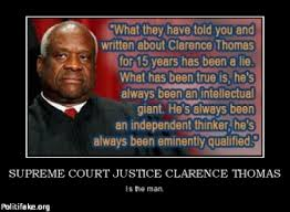SUPREME COURT JUSTICE CLARENCE THOMAS politics Comments