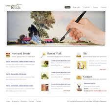 Artist Website Templates Interesting Art Website Templates All About Template Artist Website Templates