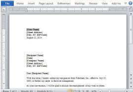 unique template microsoft word resignation letter interior design format cool decoration dear name professional