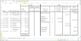 Bookkeeping Journal Template Cash Receipt Journal Template Receipts Accounting Payments
