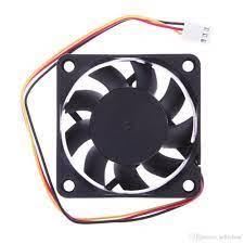 Satın Al 39 Cm Kablo 1 Adet 12 V DC 6 Cm PC Soğutma Taşınabilir Fan Rulman  3 Pin Konektörü P4 70 Derece Sıcaklık Soğutma Fanları Için, TL13.35
