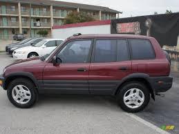 1998 Prussian Red Pearl Metallic Toyota RAV4 #48387397 Photo #2 ...