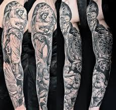 Tattoo Braccio Realistico