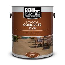 Decorative Concrete Dye Behr Premium Behr