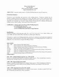 Resume Format For Welder Resume Template Ideas