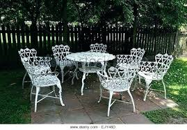 wrought iron wicker outdoor furniture white. White Iron Garden Furniture Wrought Classy . Wicker Outdoor N