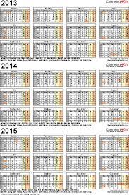 Free Printable Calendars 20142015 Calendar 2014 And 2015
