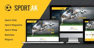 joomla football template. SportAK Soccer Club and Sport Joomla Template by torbara