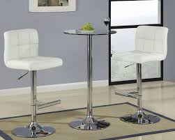 image of glass bar table and stool