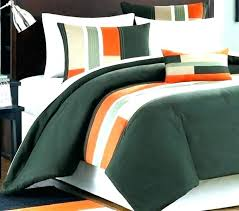 orange comforter set grey and green gray comforters bedding pipeline twin