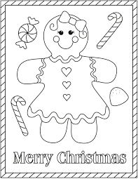 gingerbread girl coloring pages. Unique Girl Christmas Coloring Pages Gingerbread For Gingerbread  Girl Coloring Page Throughout Pages