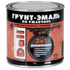 Строительные <b>эмали DALI</b> — купить на Яндекс.Маркете