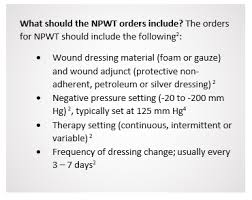 Wound Charting Examples Negative Pressure Wound Therapy Part 2 Lippincott