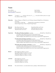 New Warehouse Resume Resume Pdf