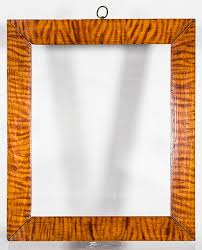 best a superb tiger stripe faux bois hand painted finish from about 1840 it is 10 3 4 x 12 7 8 with an 8 1 2 x 10 1 2 image size