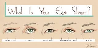 eye shape chart eye shapes and 80s makeup nouvellegamine