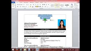 How To Create Resume In Word Custom How Create A Resume On Word Endowed Depict Write Cv With Microsoft