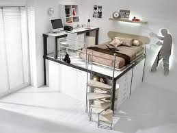 the designers place beds over closets desks under beds and etc all of them are comfortable as for sleeping as for studying you could find the further