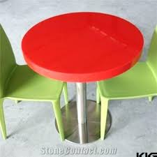 acrylic round table top acrylic round table glossy red round restaurant dining table acrylic solid surface