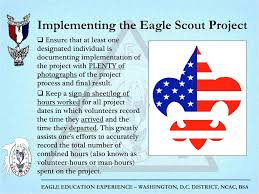 Eagle Scout Project Sign In Sheet Eagle Education Experience Ppt Download