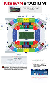 Titans Seating Chart With Rows Rose Theater Seating Chart Lovely Nissan Stadium Seating