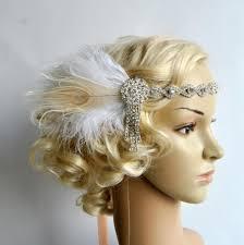 Gatsby Hair Style art deco 1920s design the great gatsby flapper bridal fascinator 5766 by stevesalt.us