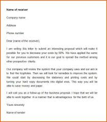 48 Impressive Business Proposals Letter Samples The Proposal