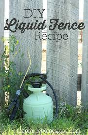 homemade liquid fence recipe