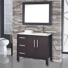 Bathroom Vanity Set Mtdvanities Monaco 40 Single Sink Bathroom Vanity Set With Mirror