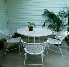 expanded metal patio table wallpaper