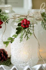 Mason Jar Decorating Ideas For Christmas Mason Jar Christmas Decorating Ideas Clean and Scentsible 23