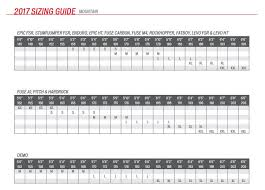 Bicycle Frame Size Chart Hybrid Sizing Guides And Charts