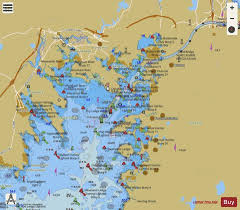 Cape Cod Canal And Approaches Ma Marine Chart