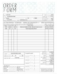 PDF General Photography Sales Order Form Template - Fillable Adobe ...