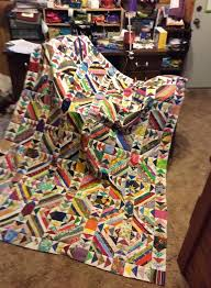 Best 25+ String quilts ideas on Pinterest | Scrap quilt patterns ... & Flying String quilt, originally posted by Cyndi Floyd Holman to Bonnie  Hunter's Open Studio Adamdwight.com