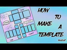 Roblox Custom Clothes How To Make A Custom Clothing Template For Roblox Angelyt