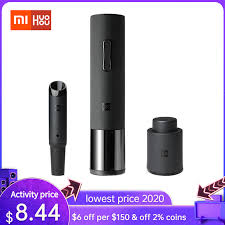 Xiaomi <b>Huohou Automatic Red</b> Wine Bottle Opener Cap Stopper ...