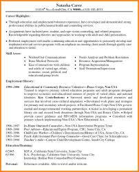 Nurse Advisor Sample Resume Resume Objective For Students