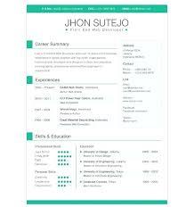 Amazing Resume Templates Free Magnificent Resume Free Template Download Resume Templates Free Download