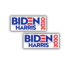 Politik Joe Biden For President 2020 VINYL Bumper Sticker 6