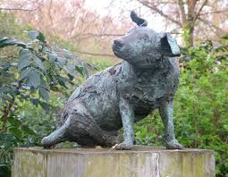 the statue of a dog that caused riots