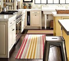 colorful striped kitchen area rug