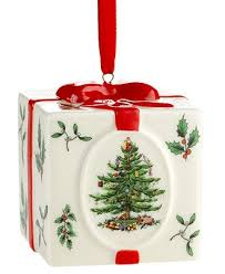 Spode Christmas Ornament, Christmas Tree Holiday Present - Ornaments - SALE  & CLEARANCE - Macy's
