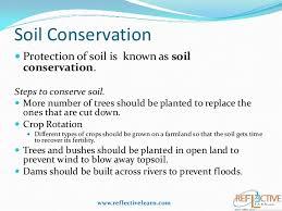class iv science soil soil conservation